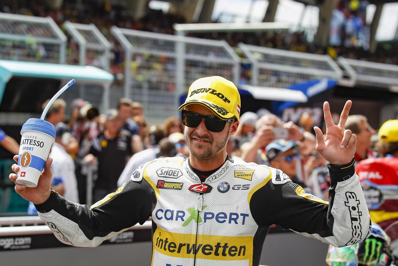 Tom Lüthi pilotera en MotoGP la saison prochaine — Motocyclisme