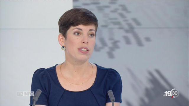 La parlementaire verte Lisa Mazzone défend le loup [RTS]