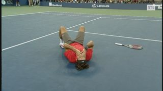 Tennis : Dernière victoire de Roger Federer à l'US Open de tennis en 2008 [RTS]