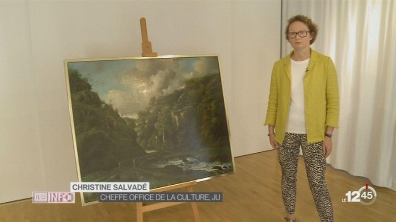 Un tableau de Courbet révélé aux Jurassiens [RTS]