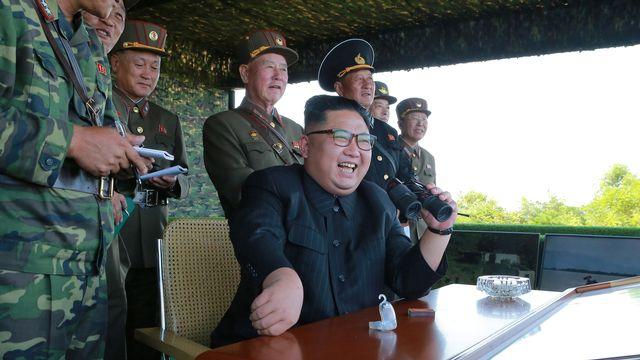 Sous l'égide du dictateur Kim Jong-Un, la Corée du Nord a à nouveau procédé à des tirs de missiles balistiques. [Reuters]