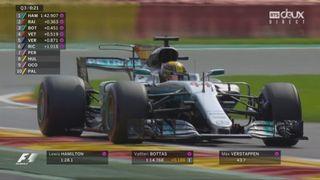 Qualifications: Hamilton (GBR) en pole position devant Vettel (GER) et Bottas (FIN) [RTS]