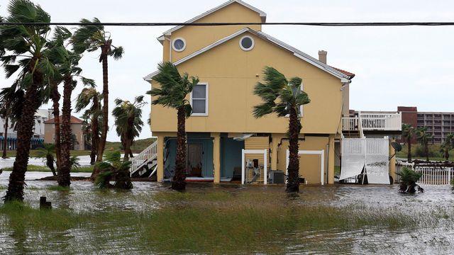 Des inondations catastrophiques sont attendues dans le sillage de l'ouragan Harvey. [Gabe Hernandez/Corpus Christi Caller-Times via AP - Keystone]