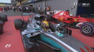 GP de Belgique: Hamilton (GBR) s'impose devant Vettel (GER) 2e et Ricciardo (AUS) 3e [RTS]