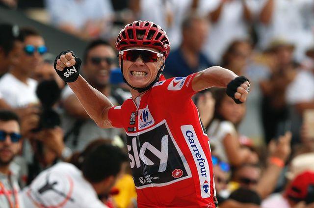 Chris Froome écrase toute concurrence en ce moment sur la Vuelta. [Javier Lizon - Keystone]