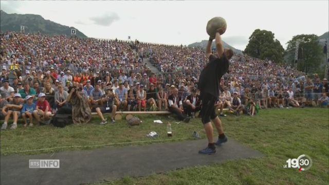 La fête d'Unspunnen bat son plein à Interlaken [RTS]