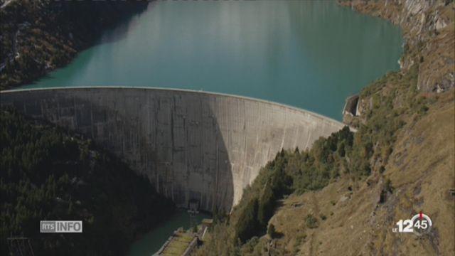 Les cantons alpins font front contre la baisse de la redevance hydraulique [RTS]