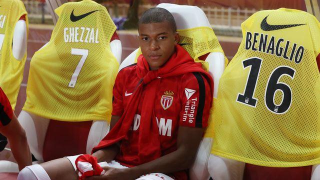 Kylian Mbappe, attaquant de l'AS Monaco. [AFP]