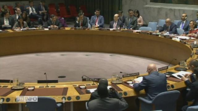 Condamnation de la Corée du Nord à l'ONU [RTS]
