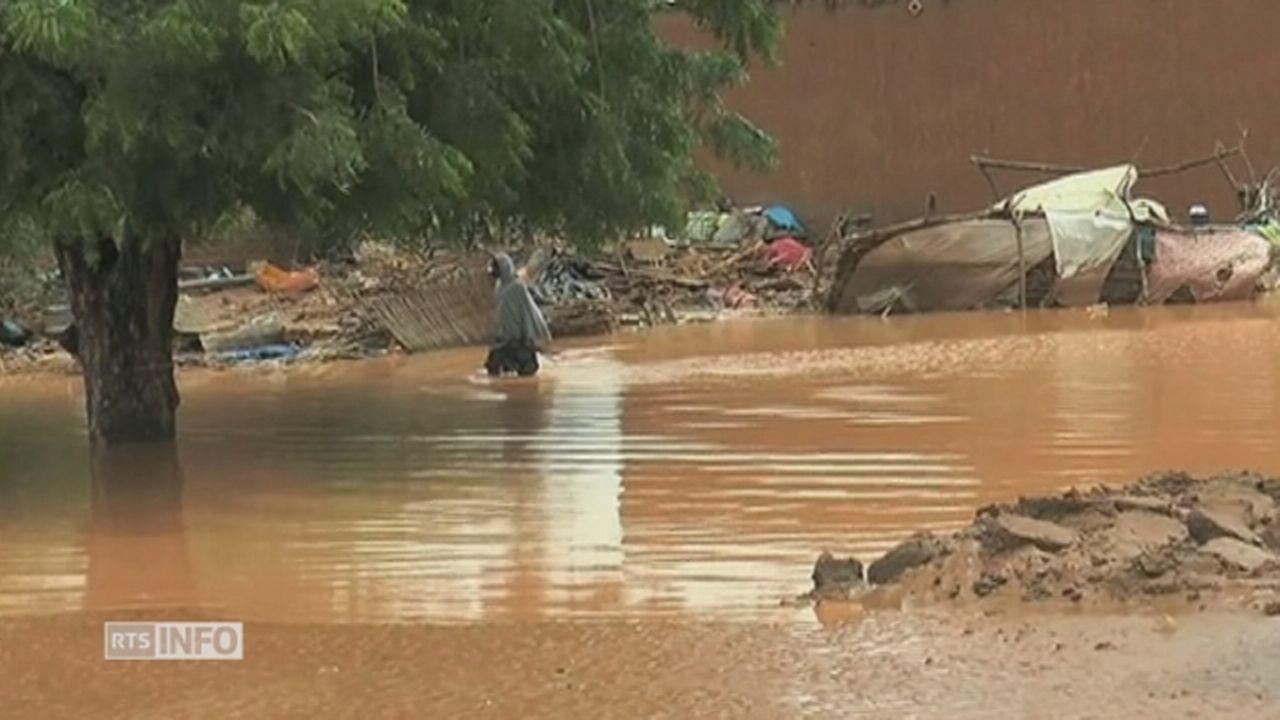 Des pluies torrentielles se sont abattues sur le Niger [RTS]