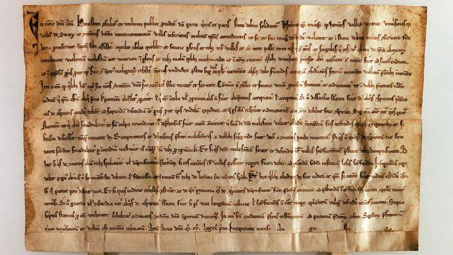 Pacte fédéral de 1291 [Gaetan Bally - Keystone]