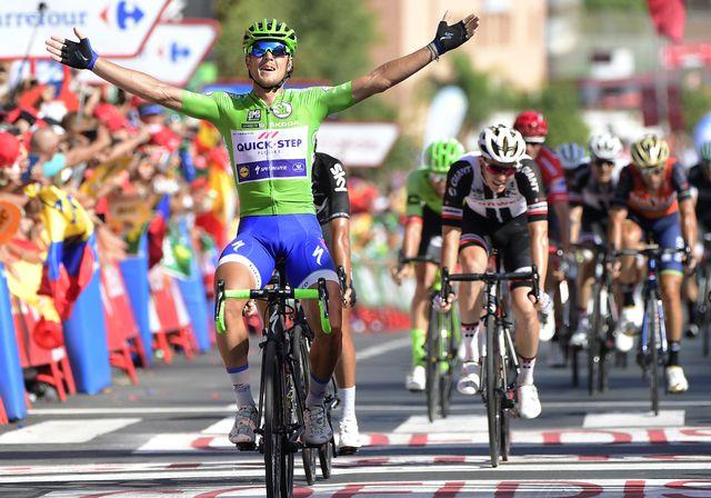 Matteo Trentin a dominé avec panache ses adversaires. [José Jordan - AFP]