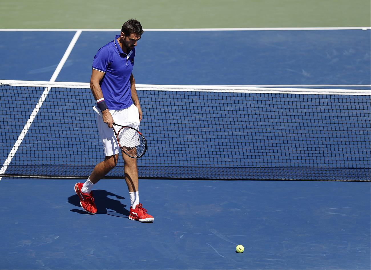 Lucas Pouille prend la porte — US Open