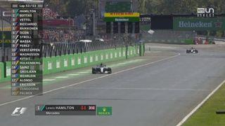 GP d'Italie: Victoire de Lewis Hamilton (UK) [RTS]
