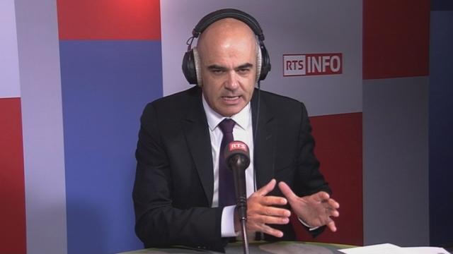 L'invité de Romain Clivaz - Alain Berset [RTS]
