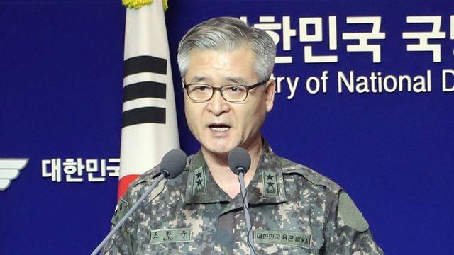 Le général Cho Han-kyu, chef d'état-major sud-coréen. [Yonhap - EPA/Keystone]