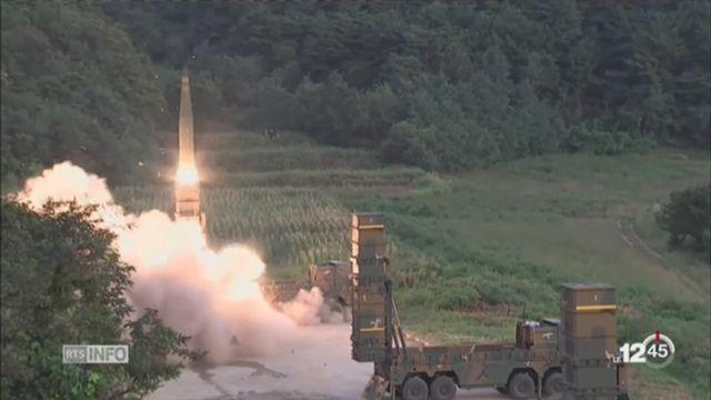 La Corée du Sud réagit après l'essai nucléaire nord-coréen [RTS]