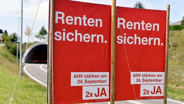 des jeunesses de parti d fendent la r forme des retraites suisse. Black Bedroom Furniture Sets. Home Design Ideas