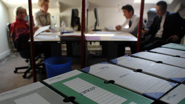 La Cour européenne des droits de l'homme a fait jurisprudence en sanctionnant la surveillance des courriels privés par un employeur (image d'illustration). [MARTIN BUREAU - AFP]