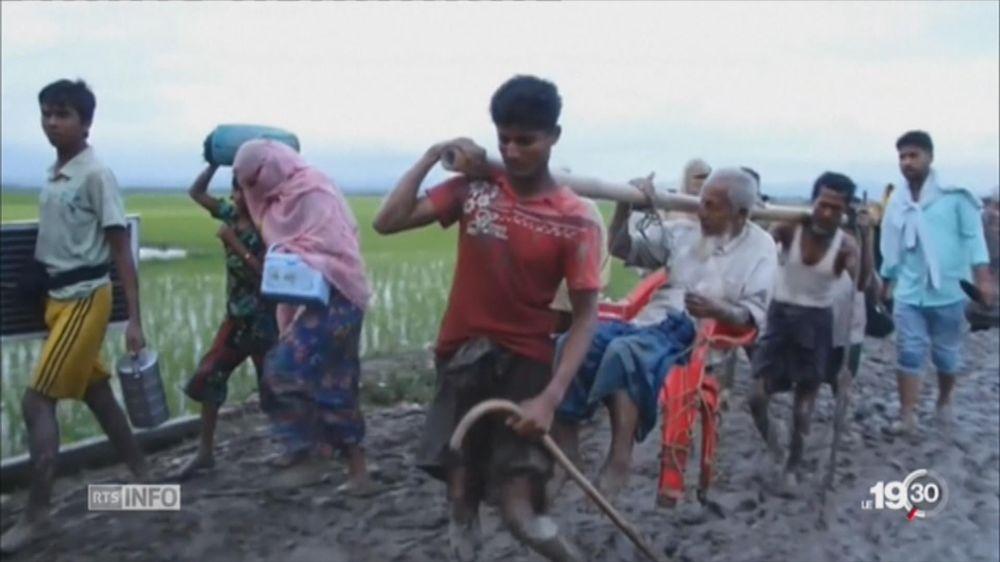 Birmanie: les Rohingyas contraints à un exode massif