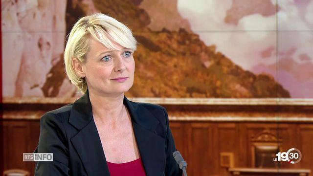 Election - Conseil fédéral: entretien avec Isabelle Moret, Candidate au Conseil fédéral [RTS]