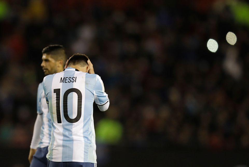 Lionel Messi à la baguette, l'Argentine a proposé un beau football aux 60'000 spectateurs du stade Monumental, mais l'efficacité n'était pas au rendez-vous. [Natacha Pisarenko - Keystone]
