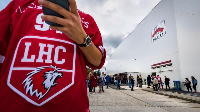 Le Lausanne hockey club affiche ses ambitions pour la saison 2017-2018. Valentin Flauraud Keystone [Valentin Flauraud - Keystone]