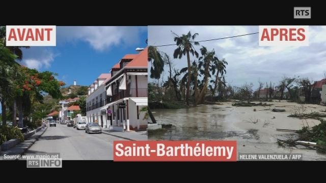 La désolation à la Havane après le passage de l'ouragan Irma — Cuba