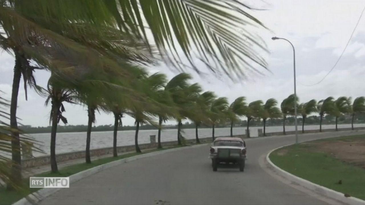 Les premières pluies et rafales d'Irma arrivent sur l'est de Cuba [RTS]