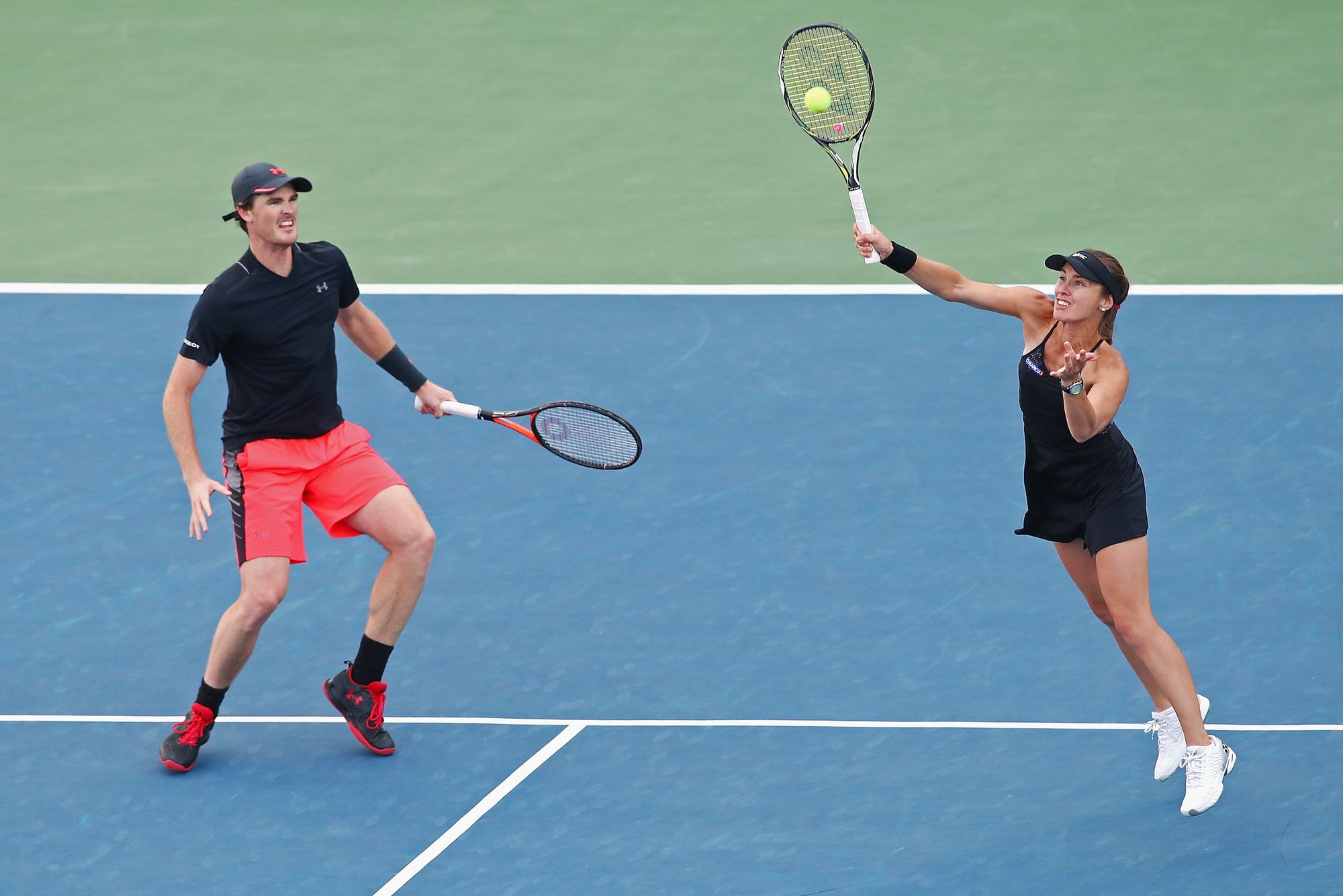 Martina Hingis et Jamie Murray remportent le double mixte