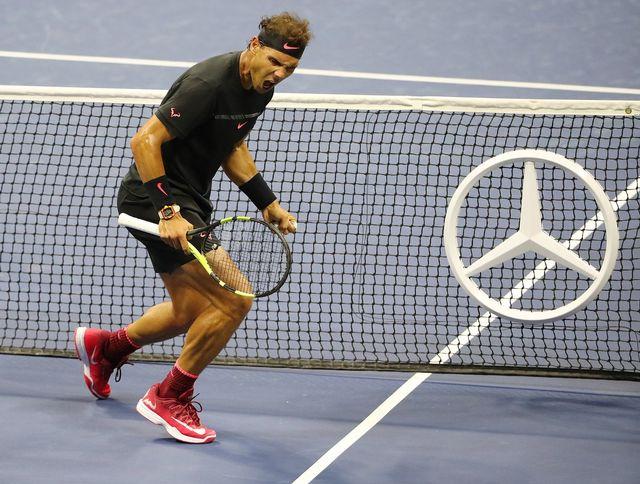 Le roi de Roland-Garros a littéralement étouffé del Potro en accélérant le rythme du jeu. [Andrew Gombert - Keystone]