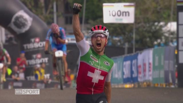 Mondiaux de Cairns: Nino Schurter (SUI) sacré champion du monde [RTS]