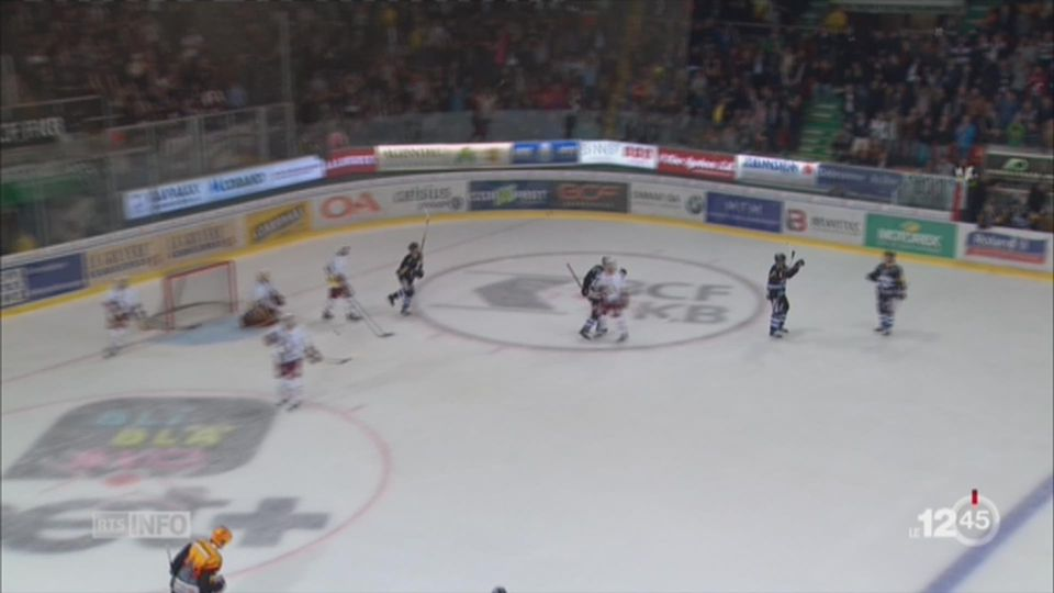 Hockey - LNA: Fribourg remporte le premier derby contre Genève [RTS]