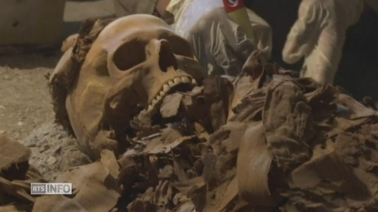 Plusieurs momies découvertes en Egypte [RTS]