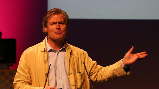 L'entrepreneur Gunter Pauli en 2009. [flickr: Lift France Day II - Gunter Pauli - CC-by-SA]
