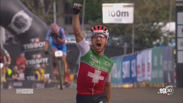 Championnats du monde de VTT: trois médailles d'or pour la Suisse [RTS]