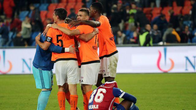 Lausanne s'est imposé pour la première fois de la saison en Super League. [Giuseppe Esposito - EQ]