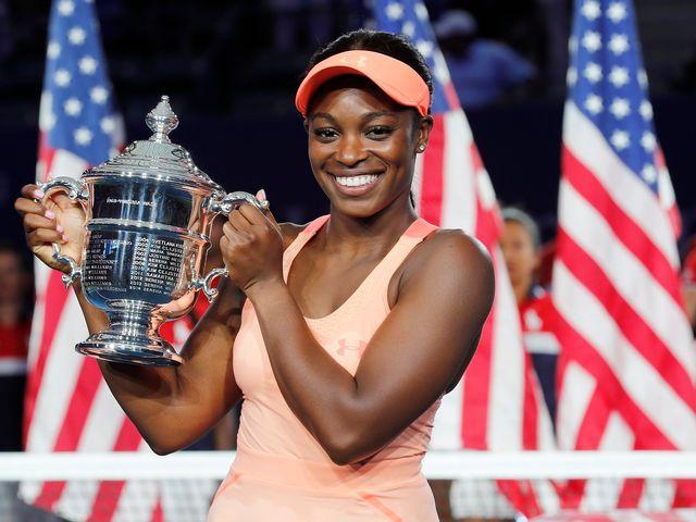 Sloane Stephens l'a facilement emporté face à Madison Keys en finale de l'US Open. [John Mabanglo - Keystone]