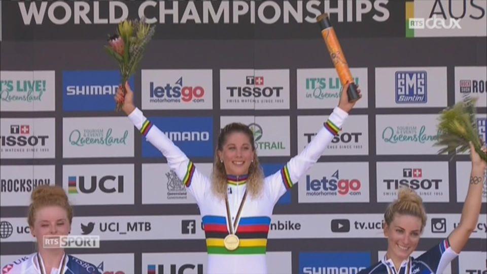 VTT: Jolanda Neff et Nino Schurter sont champions du monde [RTS]