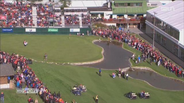 Golf: Matthew Fitzpatrick remporte l'European Masters de Crans-Montana [RTS]