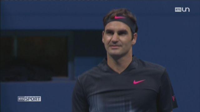 Tennis: le bilan de Roger Federer à l'US Open [RTS]
