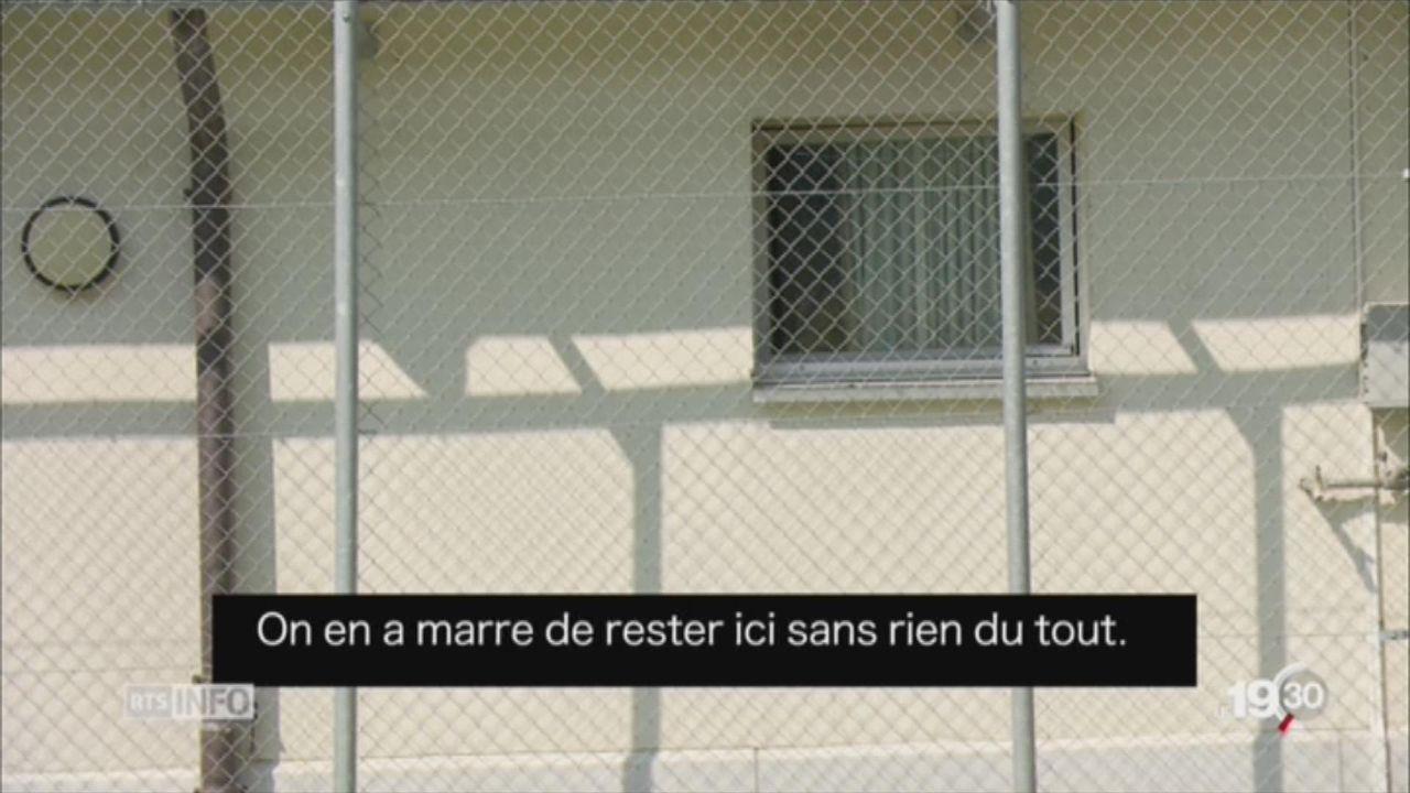 Immersion dans le centre de détention pour migrants de Granges (VS) [RTS]