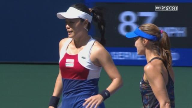 Double dames, finale: Hradecka (CZE)-Siniakova (CZE) - Chan (TPE)-Hingis (SUI) 3-6 [RTS]