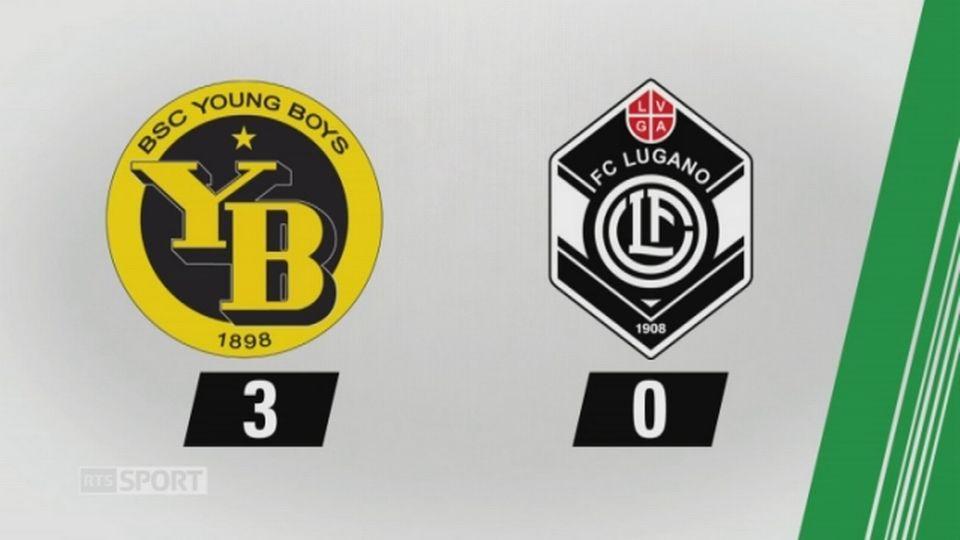 7e journée, YB - Lugano, 3-0 (1-0): tous les buts de la rencontre [RTS]