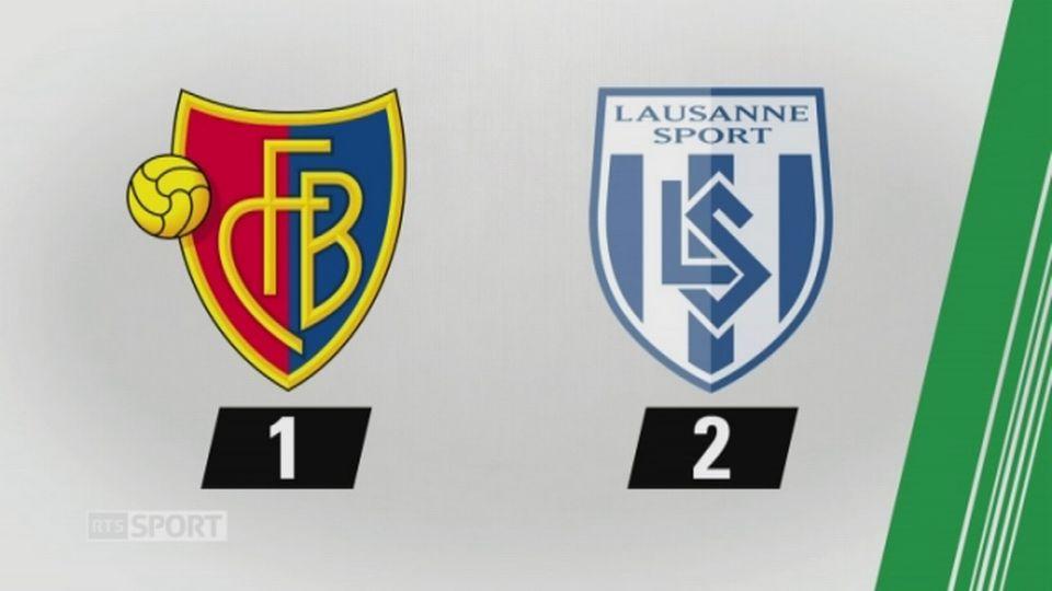 7e journée, Bâle - Lausanne, 1-2 (1-0): tous les buts de la rencontre [RTS]