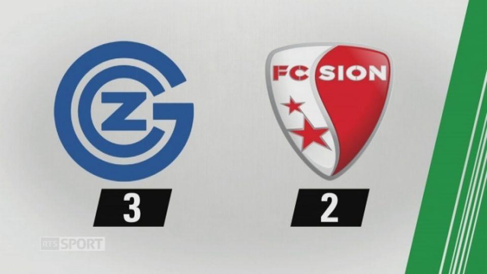 7e journée, GC - Sion, 3-2 (2-2): tous les buts de la rencontre [RTS]