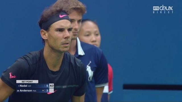 Messieurs, finale: Nadal (ESP) - Anderson (RSA) 6-3 [RTS]