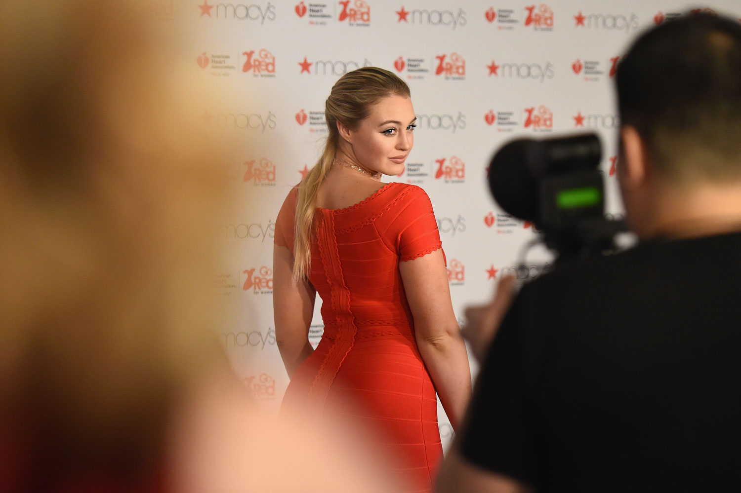 Iskra Lawrence à la Fashion Week de New York, 2017.