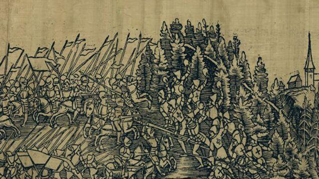 """""""La bataille de Morgarten, histoire et mythe"""", une brochure de l'Oeuvre suisse des Lectures pour la Jeunesse [sjw.ch - OSL]"""