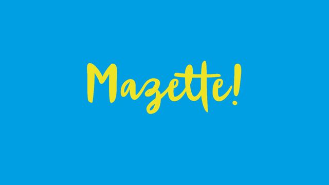 Mazette! [Mazette! - Association Mazette!]